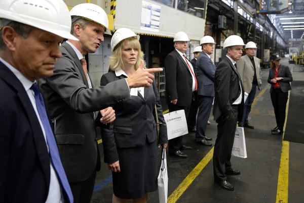 MpK-RegioPK RHEINZINK GmbH & Co. KG<br /><br /> 18.09.2014 / Datteln<br /><br /> Foto: Volker Hartmann/WirtschaftsVereinigung Metalle