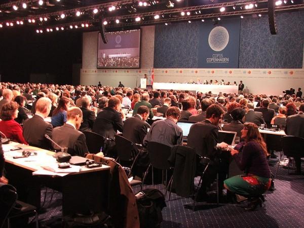 Eröffnung des UN-Klimagipfels in Kopenhagen im Jahr 2009