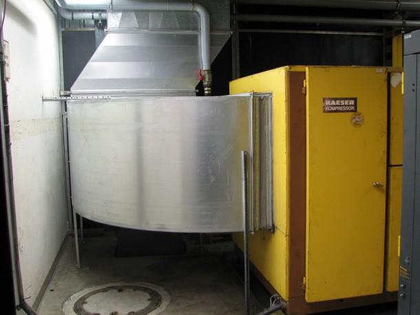 Nutzung der Kompressorenabwärme bei DIEHL