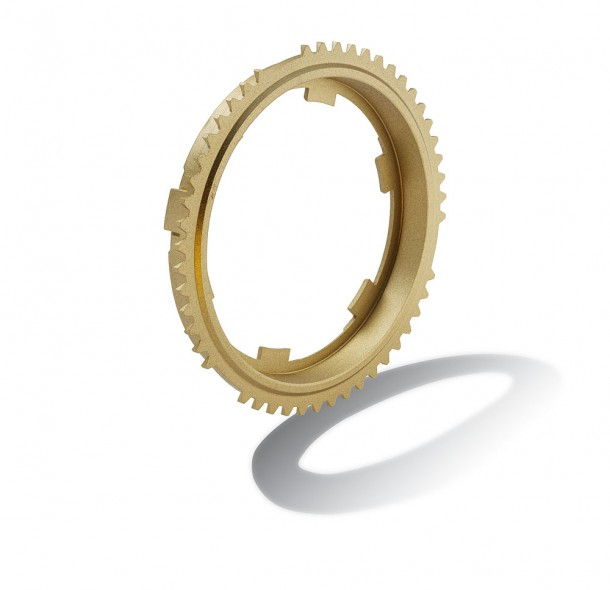 Synchronring aus Messing