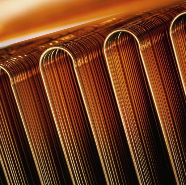 Kupferrohre mit hochreiner Oberfläche für die industrielle Kollektorfertigung