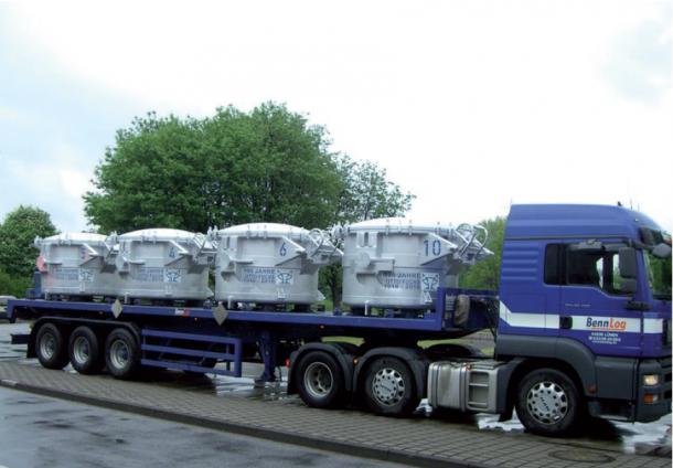 Transport von Flüssigaluminium