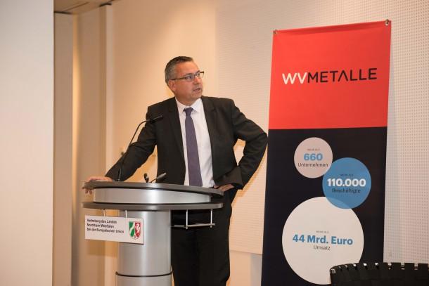 Der Vorsitzende von Metalle pro Klima, Roland Leder