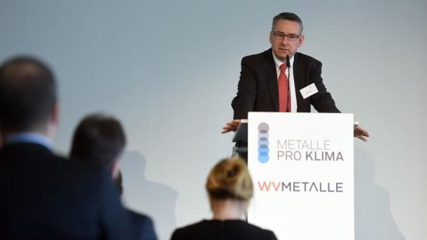 Der Metalle pro Klima-Vorsitzende Roland Leder